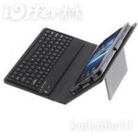 PU Samsung Galaxy Tab Leather Case with Bluetooth Keyboard 10.1 Case plus Solar Charger Manufactures