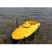 China Yellow rc fishing bait boat battery power type remote control RoHS Certification on sale