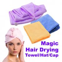 China Magic Quick-Dry Hair Towel Hair-drying Ponytail Holder Cap Towel Bath Towel Hair Towel on sale