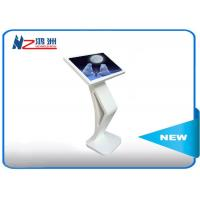 Multi Points Lcd Self Service Checkout Kiosks With Powder Coated , High Resolution Manufactures