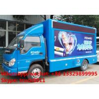 cheapest price forland 4*2 LHD P6 mobile LED billboard advertising truck for sale, China good LED advertising truck Manufactures