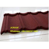 Recycled Corrugated Steel Roofing Sheets For House , Color Roofing Sheets Manufactures