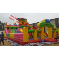 commercial outdoor jumping and inflatable castles/slides inflatable amusement park  inflatable bouncy castle Manufactures