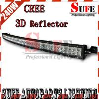 New 42'' 240W Curved CREE Led Light Bar 4x4 Truck Driving Light Bar Off road arch bent Manufactures