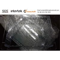 Valve Gate Hot Runner Injection Molding Clear PC Tray for Hospital Storage System Manufactures