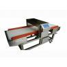 220V 50Hz Metal Detector Machine , Textile Testing Equipment Double Sensor Conveying Belt Manufactures