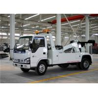 Buy cheap 790mm Rear Suspension Road Wrecker Truck , Wrecker Tow Truck For Medium Cargos from wholesalers