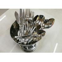 Stainless Steel 304# Flatware Sets Of 20 Pieces Steak Knife Dinner Fork Serving Spoon
