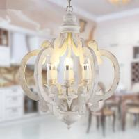 Buy cheap Wood circle chandelier dining room Lights Fixtures (WH-CI-59) from wholesalers