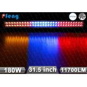 6000K 11700LM Flashing Led Light Bar spot / flood / combo beam Manufactures