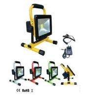 Outdoor portable and rechargeable led flood light IP65 Manufactures