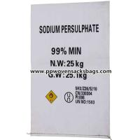 Professional Anti-corrosion PP Woven Bags Sacks for Packing Sodium Persulfate Manufactures