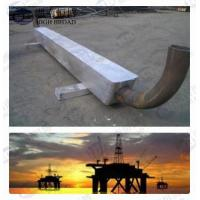 Quality Aluminum cathodic protection anodes for Offshore construction Service onshore solution for sale