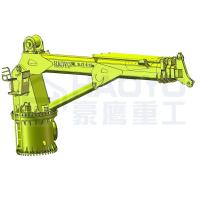 Quality Telescopic Deck Lifting Equipment on Ships Crane Marine ship deck crane for sale