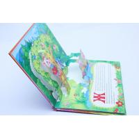 Glossy Art Paper 3D Pop-Up Card Printing For Boardbook / Magazing Printing Services Manufactures