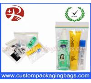 China Custom Printed Plastic Ziplock Bags , Plastic Zip Lock Food Packaging on sale