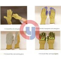 Customized Color Anti Cut Gloves Aramid Materials For Rescue And Relief Work Manufactures