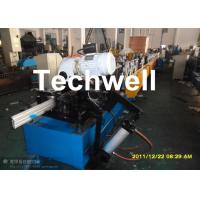 120mm Diameter Roller Shutter Forming Machine With Hydraulic Cutting TW-RSD85 Manufactures