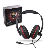 China Genik Play Gaming Accessories 4 In 1 Stereo Gaming Headset Headphones With Mic / Light on sale