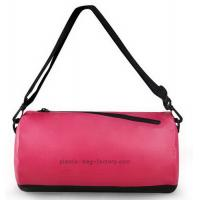 Gym Sports Waterproof Duffel Bag 20*20*36CM Size High Frenquency Heat Sealed Technique Manufactures