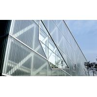 Extra clear tempered U glass price U channel glass Manufactures