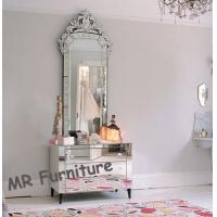 Beautiful Venetian Glass Mirrors Antique, Large Venetian Etched Mirror Manufactures
