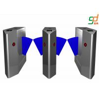 Mechaninical Structure  Flap Barrier Gate Compatible IC ID Card Turnstile Manufactures