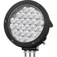 Black Cree 10000 lumen 9 Inch Offroad LED Driving Lights , Round 120W LED Work Light Manufactures
