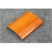 Powder Coating / Anodized 6063 6061 Aluminum Railing Profiles With Imitation Wood Grain Manufactures