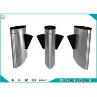 Access Control Flap Barrier Gate Tailgating Alarm ESD Mechainsm Turnstiles Manufactures