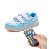 Trainer Simulation Led Shoes , Remote Control Girls Light Up Sneakers Manufactures