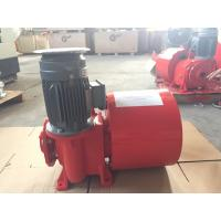 Quality Red Painting Cable Reeling Drum With Motor Horizontal/ Vertical Installation for sale