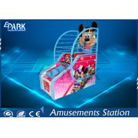 Indoor Arcade Basketball Game Machine Coin Operated Mickey Appearance Design Manufactures