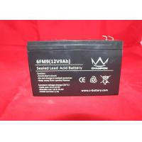 12v 8ah  Lead Acid Battery , Ups Rechargeable Battery For Emergency Lighting Manufactures