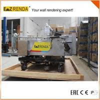 Buy cheap High Speed Automatic Rendering Machine Wall Plaster Machine For Internal Wall CE from wholesalers