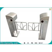 Automatic Supermarket Swing Gate Intelligent Vertical Swing Turnstiles System Manufactures