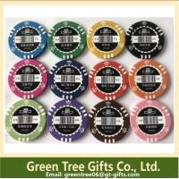 Different Colors& Design 11.5g Dice Poker Chip/ 14g Clay Poker Chip Manufactures