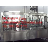 automatic beer glass bottle washing filling capping machine Manufactures