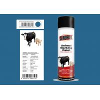 Lsuzu Blue Animal Marking Paint AEROPAK Brand ROHS Certificated For Sheep Manufactures