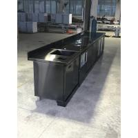 90kgs/24h Output Black Titanium Stainless Steel 304 Shell Square Ice Machine with Blue Light Manufactures