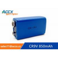 CR9V 850mAh 9v lithium battery for Alarms and security devices Manufactures