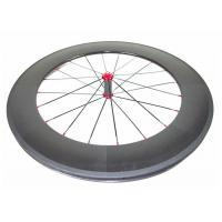 Quality 700C Chinese Carbon Road Bike Wheels 88MM With Straight Pull Powerway R36 Hub for sale