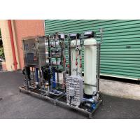 China RO Ultrapure Water Purification System Reverse Osmosis Plus EDI Plant For Laboratory on sale