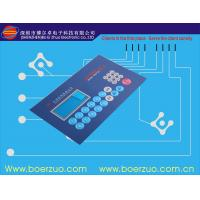 Backlight 3M Adhesive Flexible Membrane Switch Custom With LED window Manufactures