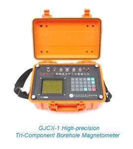 GJCX-1 High-precision Tri-Component Borehole Magnetometer Manufactures