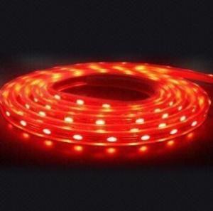 SMD3528 60leds/m Red color led strip light Manufactures