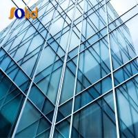 Window or curtain wall glass building factory with price Manufactures