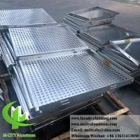 Buy cheap 3mm Powder Coated Aluminium Cladding Panels / Aluminum Solid Panel For Wall from wholesalers