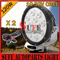 Buy cheap 9 INCH 120W CREE OFFROAD LED Driving Light For Truck 4x4 4wd Boat Tractor Auto from wholesalers