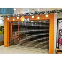 Good Vision 3mm 9mm Bar Clear Roller Shutters Manufactures